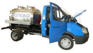 Автоцистерна молоковоз водовоз для пищевых жидкостей