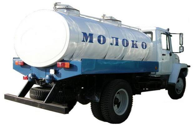 молоковоз газ