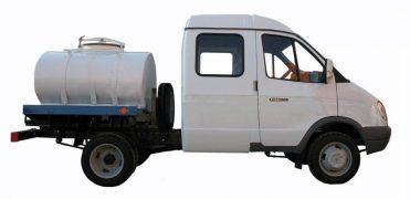 Автоцистерна на базе ГАЗ-33023 Бизнес ГАЗель Фермер
