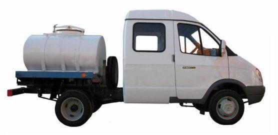 Автоцистерна для пищевых жидкостей на базе ГАЗ-33023 Бизнес ГАЗель Фермер