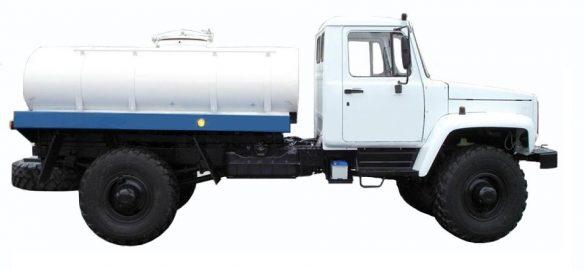 Автоцистерна на базе ГАЗ-33081 Садко