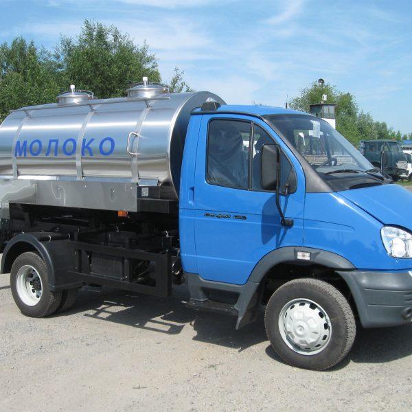 Автоцистерна для пищевых жидкостей молока воды кваса ГАЗ-33106 Валдай