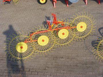 Грабли навесные для трактора