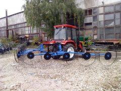 Грабли трактор
