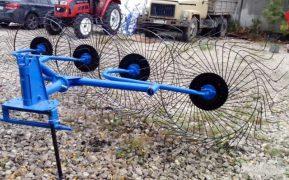 Недорогие надёжные грабли для сено уборки