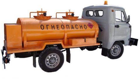 Автотопливозаправщик на базе УАЗ-33036