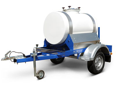 Прицеп цистерна для молока воды пищевая