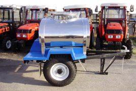 Производство прицепов для молока, воды и кваса 600 л.