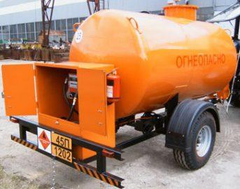 Прицеп топливозаправщик для трактора 4200 л