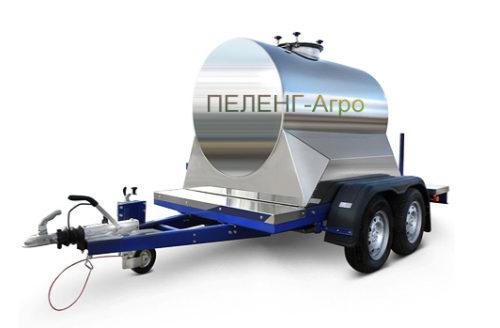 Прицеп цистерна для воды и молока