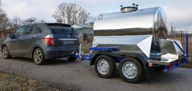 Прицеп цистерна на 1150 литров (2)