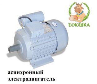 асинхронный электродвигатель для доильного аппарата