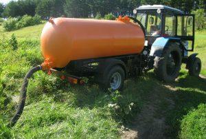 Прицеп вакуумный для трактора ассенизатор