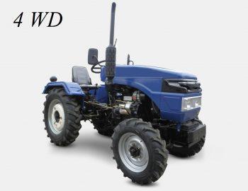 трактор полный привод 4WD трактор мини
