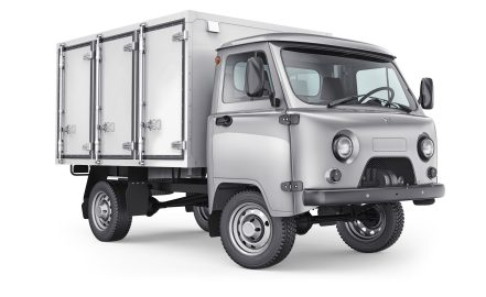 УАЗ Хлебный фургон
