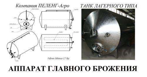 Аппарат главного брожения