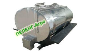 Цистерна пищевая -4000-2 для установки на раму