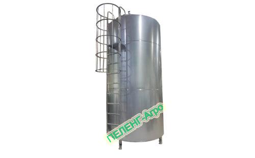Вертикальный танк термос