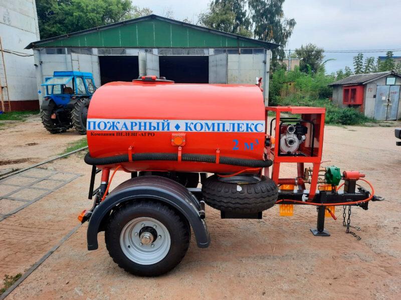 прицеп пожарный для трактора